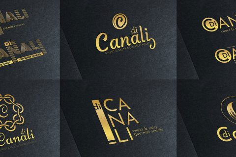 Di Canali branding